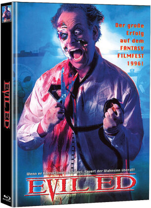 Evil Ed (1995) (Cover A, Super Spooky Stories, Limited Edition, Mediabook, Unrated, Blu-ray + DVD)