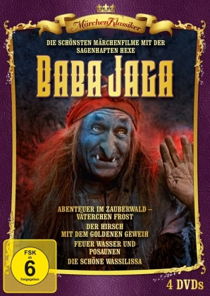 Hexe Baba Jaga (4 DVDs)