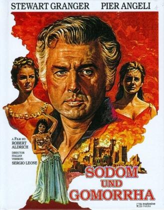 Sodom und Gomorrha (1962) (Cover A, Mediabook, 2 Blu-rays)