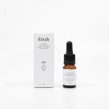 Eirah Vollspektrum Cannabis-Öl Night Alwana Entourage (CBD: 10% THC: <0.2%) - 10ml