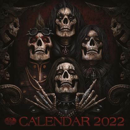Spiral - 2022 Square Calendar