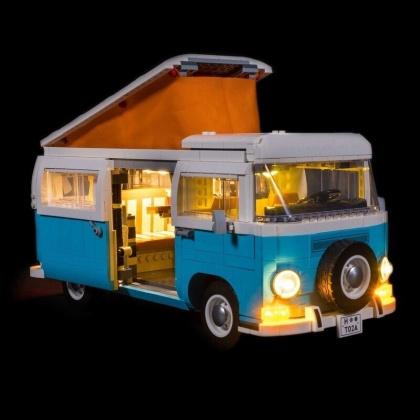 Light My Bricks - LED Licht Set für LEGO® 10279 Volkswagen T2 Campingbus
