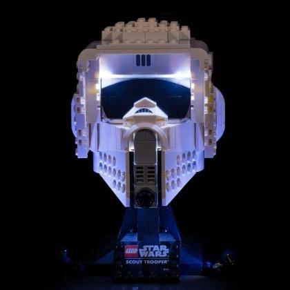 Light My Bricks - LED Licht Set für LEGO® 75305 Star Wars Scout Trooper Helm