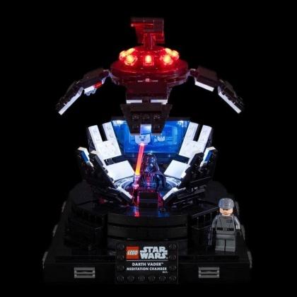 Light My Bricks - LED Licht Set für LEGO® 75296 Darth Vader Meditationskammer