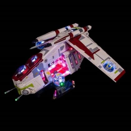 Light My Bricks - LED Licht Set für LEGO® 75309 Star Wars Republic Gunship