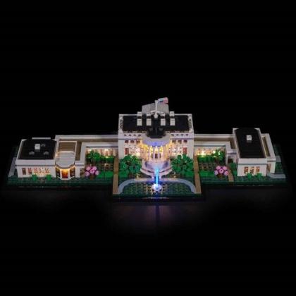 Light My Bricks - LED Licht Set für LEGO® 21054 Das Weisse Haus
