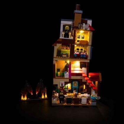 Light My Bricks - LED Licht Set für LEGO® 75980 Harry Potter - Angriff auf den Fuchsbau