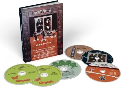 Jethro Tull - Benefit (2021 Reissue, Deluxe Edition, CD + DVD)