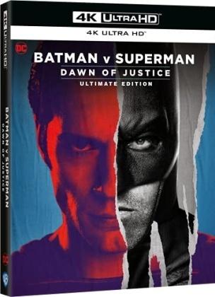 Batman v Superman - Dawn of Justice (2016) (Ultimate Edition, 4K Ultra HD + Blu-ray)