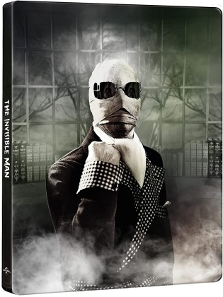 L'uomo invisibile (1933) (Edizione 90° Anniversario, n/b, Steelbook, 4K Ultra HD + Blu-ray)