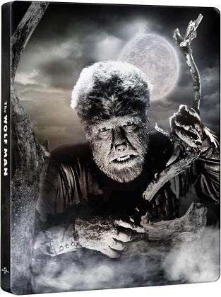 L'uomo lupo (1941) (Edizione 80° Anniversario, n/b, Steelbook, 4K Ultra HD + Blu-ray)
