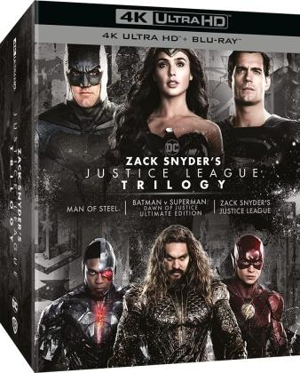Zack Snyder's Justice League Trilogy (4 4K Ultra HDs + 4 Blu-ray)