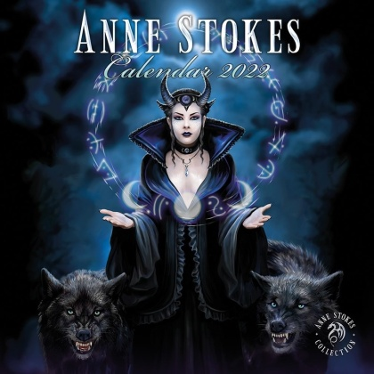 Anne Stokes - 2022 Square Calendar
