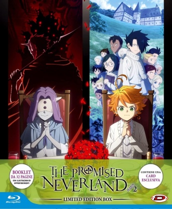 The Promised Neverland - Stagione 2 (Limited Edition Box, 3 Blu-ray)