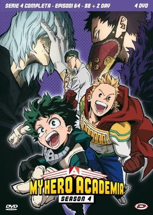 My Hero Academia - Stagione 4 (4 DVD)