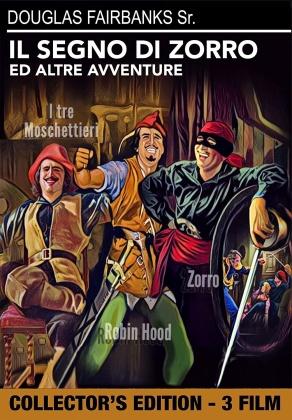 Il segno di Zorro + I tre moschettieri + Robin Hood (Collector's Edition)