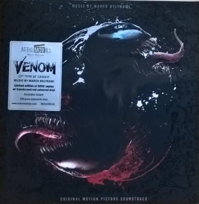 Marco Beltrami - Venom: Let There Be Carnage - OST - Marvel (Music On Vinyl, Red Vinyl, LP)