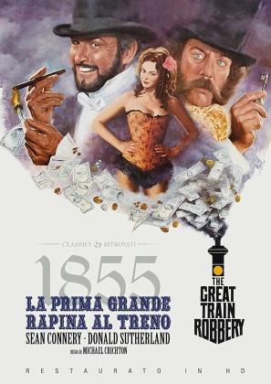 1855 - La prima grande rapina al treno (1978) (Classici Ritrovati, restaurato in HD)
