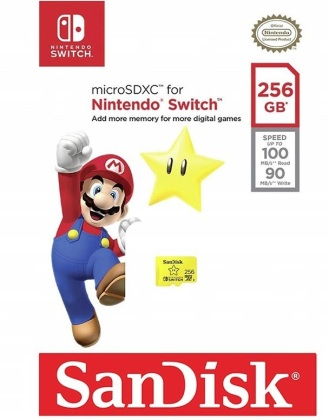 Switch SD Speicher 256 GB