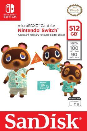 Switch SD Speicher 512 GB