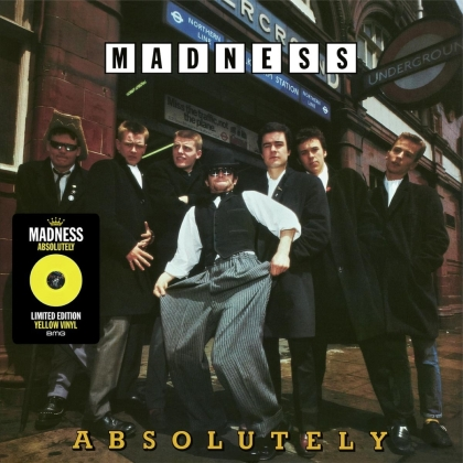 Madness - Absolutely (2021 Reissue, Limited Edition, Yellow Vinyl, LP)