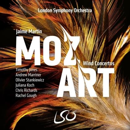 London Symphony Orchestra & Wolfgang Amadeus Mozart (1756-1791) - Wind Concertos (Hybrid SACD + CD)