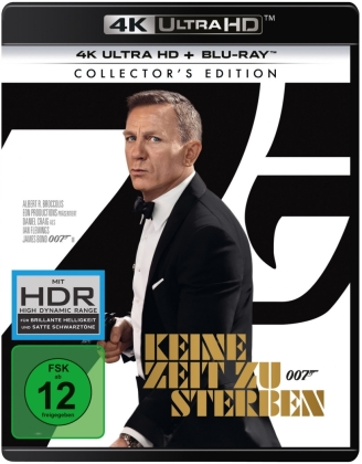 James Bond: Keine Zeit zu sterben (2021) (4K Ultra HD + Blu-ray)