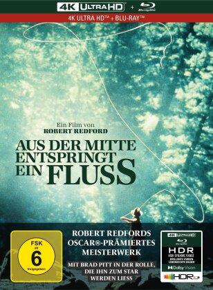 Aus der Mitte entspringt ein Fluss (1992) (Limited Collector's Edition, Mediabook, 4K Ultra HD + Blu-ray)
