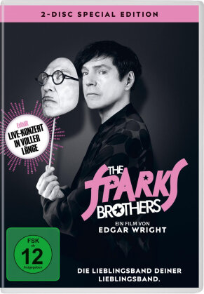 The Sparks Brothers (2021) (Special Edition, 2 DVDs)