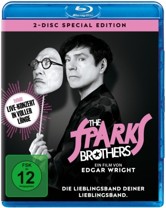 The Sparks Brothers (2021) (Special Edition, 2 Blu-rays)