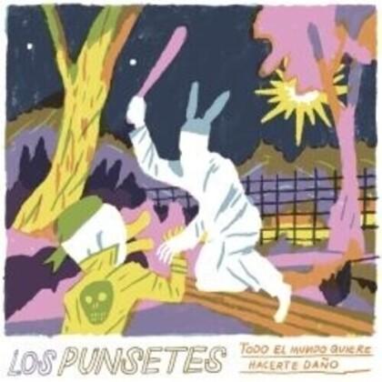 Los Punsetes - Todo El Mundo Quiere Hacerte Dano (LP)