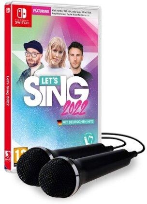 Let's Sing 2022 mit deutschen Hits [+ 2 Mics]
