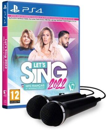 Let`s Sing 2022 français et internationaux + 2 Mics