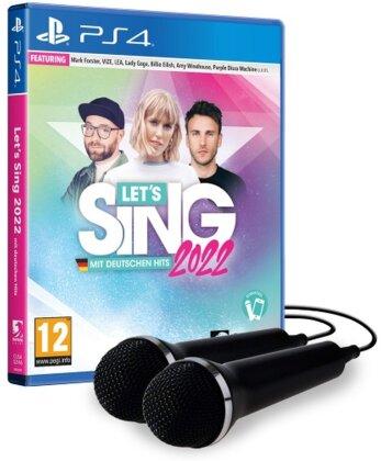 Let`s Sing 2022 mit deutschen Hits + 2 Mics