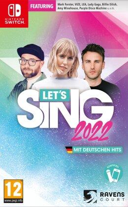 Let's Sing 2022 mit deutschen Hits
