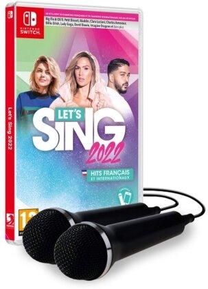 Let's Sing 2022 français et internationaux [+ 2 Mics]