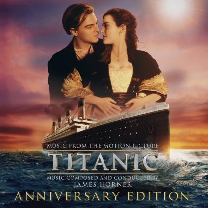 James Horner - Titanic - OST (2021 Reissue, Music On CD, Edizione Anniversario, 2 CD)