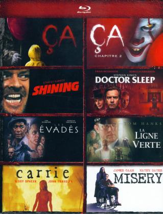 Ça / Ça - Chapitre 2 / Shining / Misery / Doctor Sleep / La ligne verte / Carrie / Les Évadés - Coffret Stephen King (6 Blu-ray)