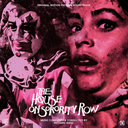 Richard Band - House On Sorority Row - OST (1st Ever Vinyl Release, Gatefold, Colored, LP)