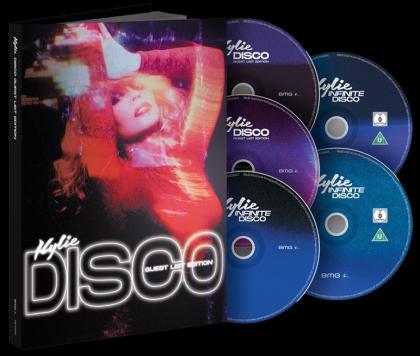 Kylie Minogue - DISCO: Guest List Edition (3 CDs + DVD + Blu-ray)
