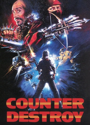 Counter Destroy (1989) (Cover A, Super Spooky Stories, Limited Edition, Mediabook)
