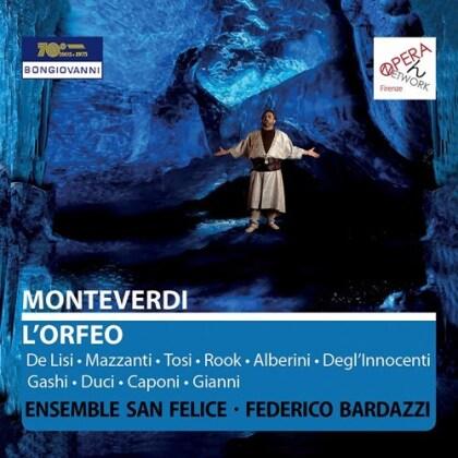 Claudio Monteverdi (1567-1643), Federico Bardazzi, Leonardo De Lisi, Mazzantini & Ensemble San Felice - L'Orfeo (2 CDs)