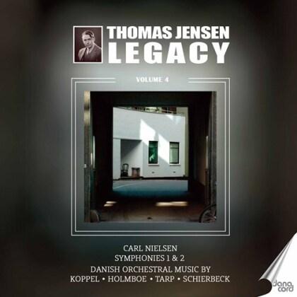 Carl August Nielsen (1865-1931), Koppel, Vagn Holmboe (1909-1996), Svend Erik Tarp (1908-1994), Poul Schierbeck, … - Thomas Jensen Legacy 4 (2 CDs)