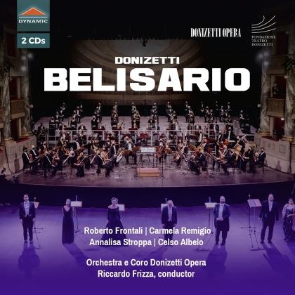 Coro Donizetti Opera, Gaetano Donizetti (1797-1848), Riccardo Frizza, Roberto Frontali & Carmela Remigio - Belisario (2 CDs)