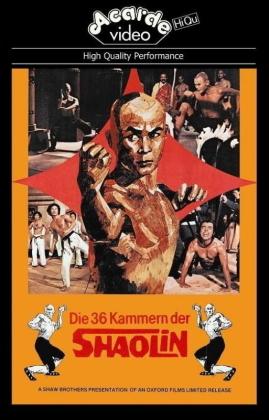 Die 36 Kammern der Shaolin (1978) (Grosse Hartbox, Cover C, Edizione Limitata, Uncut)