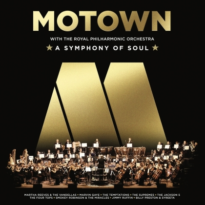 The Royal Philharmonic Orchestra - Motown: A Symphony Of Soul (LP)