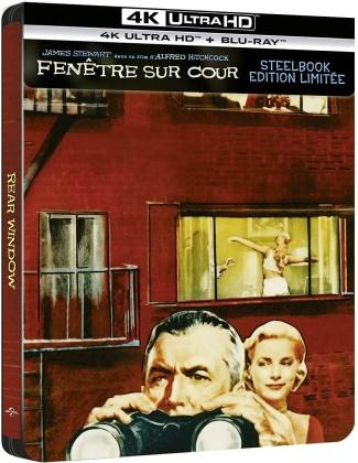 Fenêtre sur cour (1954) (Limited Edition, Steelbook, 4K Ultra HD + Blu-ray)