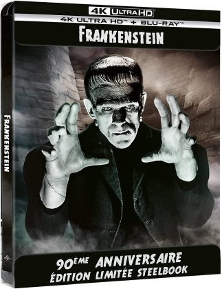 Frankenstein (1931) (Edizione 90° Anniversario, Edizione Limitata, Steelbook, 4K Ultra HD + Blu-ray)