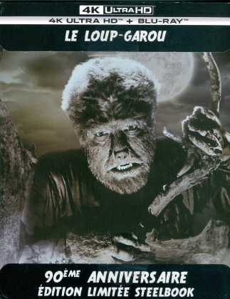 Le Loup-Garou (1941) (Edizione 90° Anniversario, n/b, Edizione Limitata, Steelbook, 4K Ultra HD + Blu-ray)
