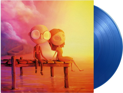 Steven Wilson (Porcupine Tree) - Last Day Of June - Original Game Soundtrack (Gatefold, Limited Edition, Translucent Blue Vinyl, LP)